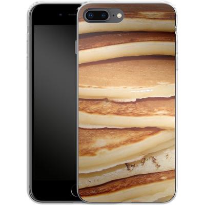 Apple iPhone 7 Plus Silikon Handyhuelle - Pancakes von caseable Designs