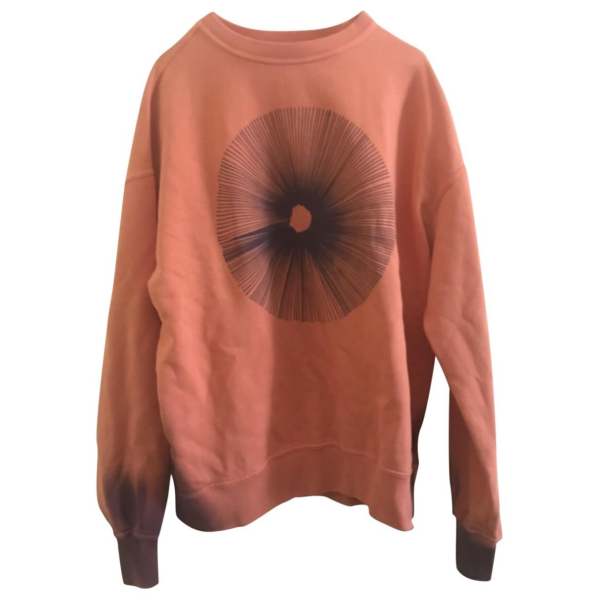 Damir Doma \N Pullover.Westen.Sweatshirts  in  Orange Baumwolle