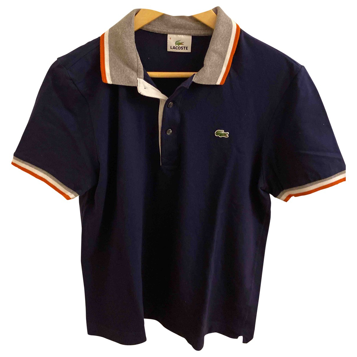 Lacoste \N Blue Cotton Polo shirts for Men 4 0 - 6