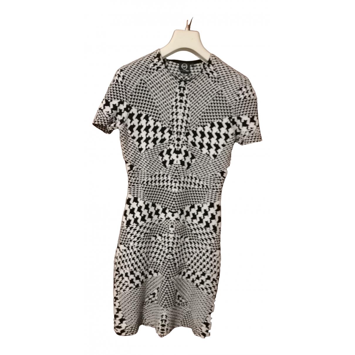 Alexander Mcqueen - Robe   pour femme en coton - elasthane - noir