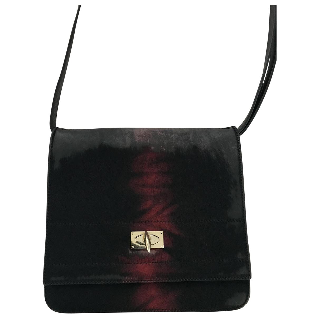 Givenchy Shark Black Pony-style calfskin handbag for Women \N