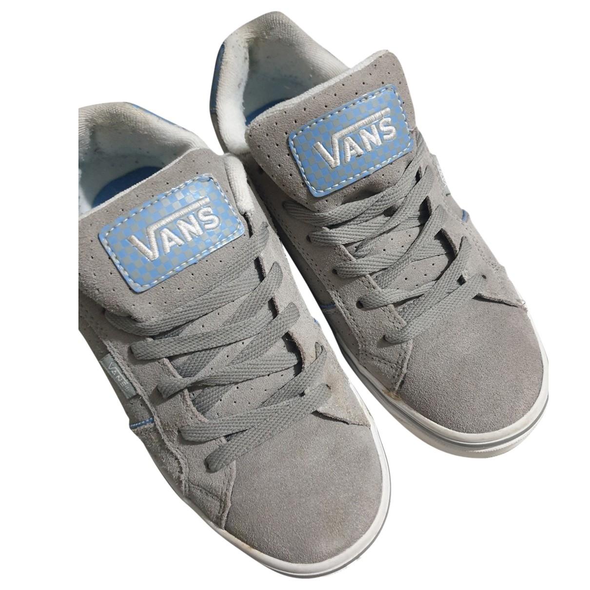 Vans \N Sneakers in  Beige Leinen