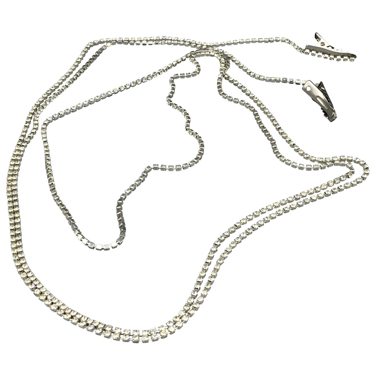 Non Signé / Unsigned \N Silver Metal necklace for Women \N