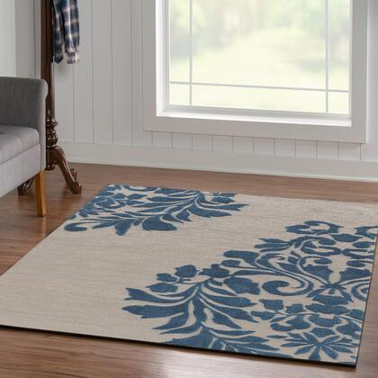 RUGTA55057 5 x 8 Rectangle Area Rug in