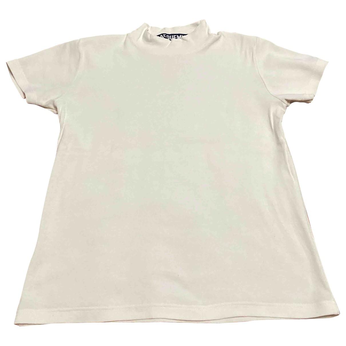 Jacquemus - Top   pour femme en coton - blanc