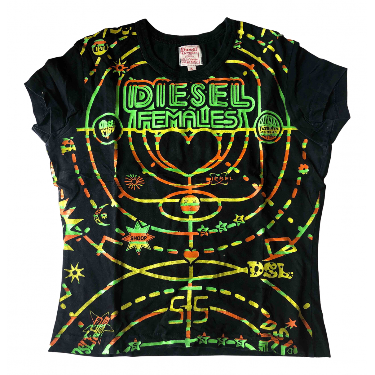 Diesel \N Black Cotton  top for Women S International