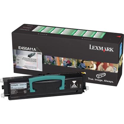 Lexmark E450A11A Original Black Return Program Toner Cartridge