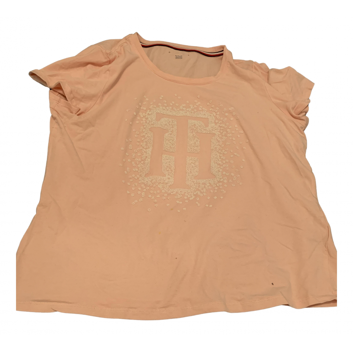 Tommy Hilfiger N Pink Cotton  top for Women XL International