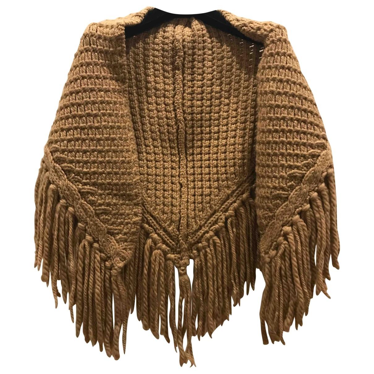 Lutz & Patmos - Veste   pour femme en laine - camel
