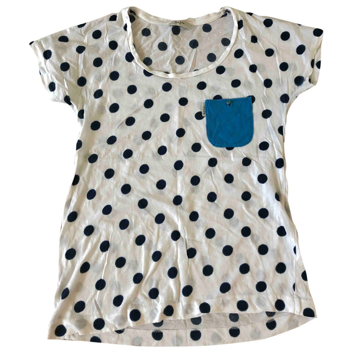 Paul Smith \N White Cotton  top for Women S International