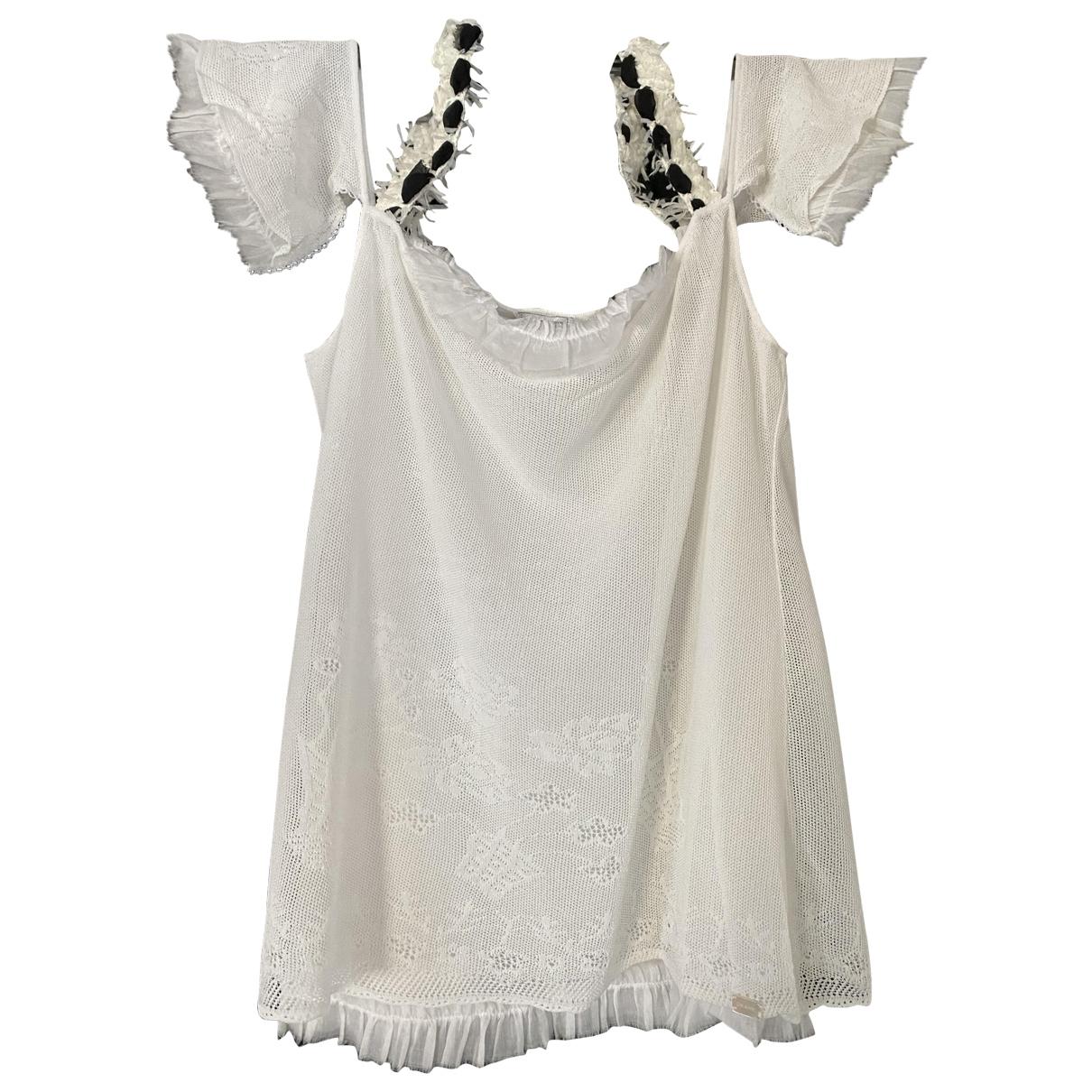 Chanel - Pull   pour femme - blanc
