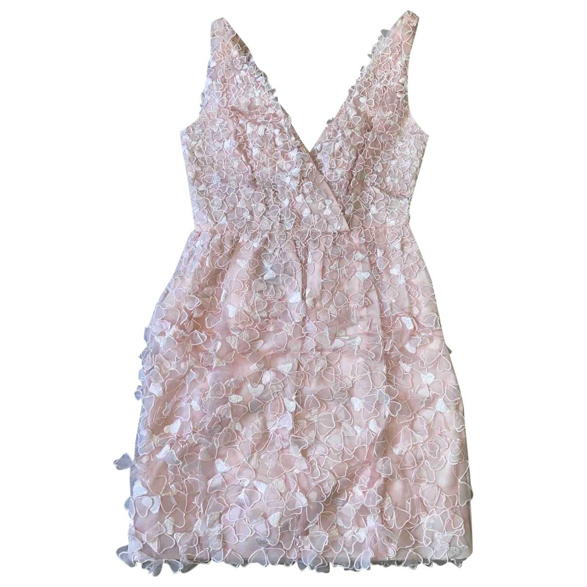 Mini vestido de Seda Oscar De La Renta