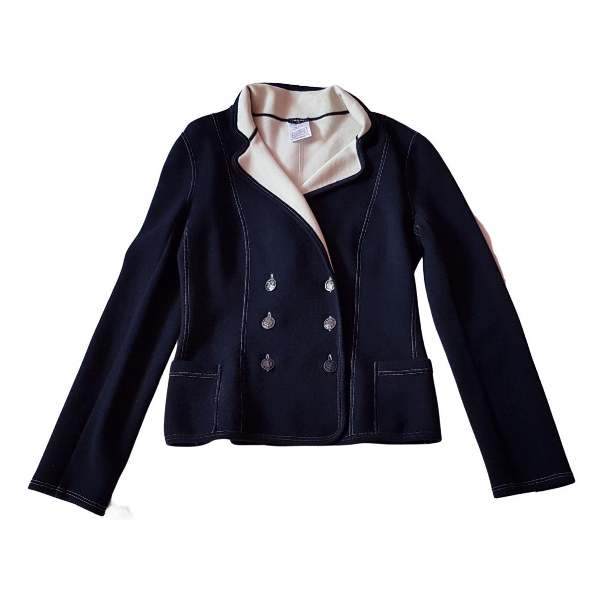Chanel \N Blue Cotton jacket for Women 40 FR