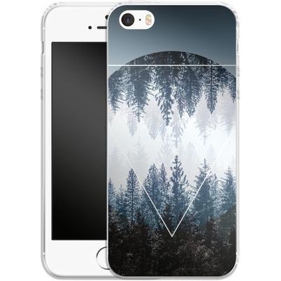 Apple iPhone 5s Silikon Handyhuelle - Woods 4 von Mareike Bohmer
