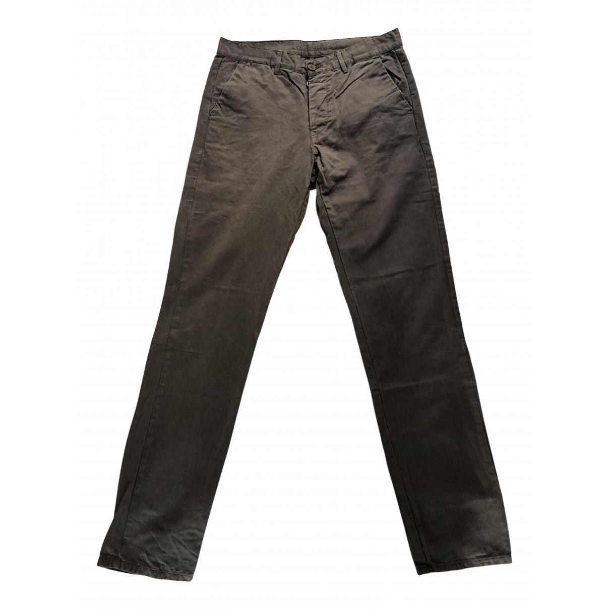 Balibaris N Grey Cotton Trousers for Men 32 UK - US