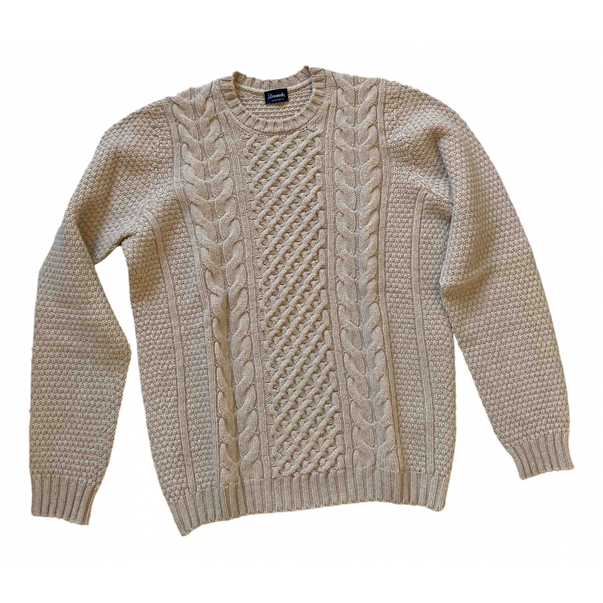 Drumohr - Pulls.Gilets.Sweats   pour homme en laine - beige