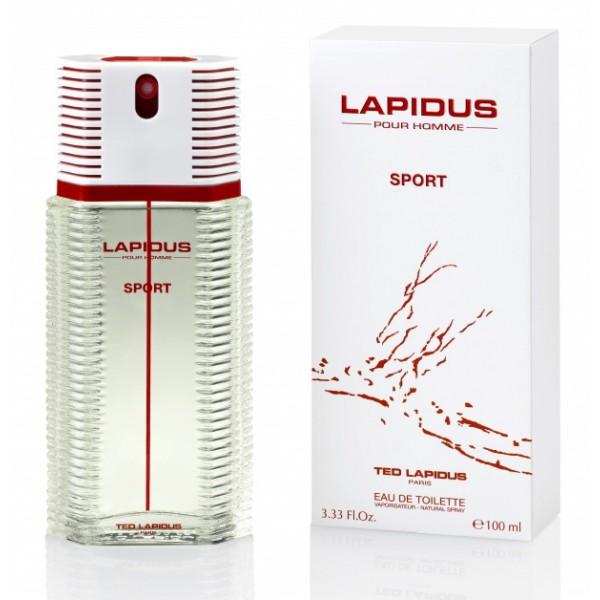 Lapidus Pour Homme Sport - Ted Lapidus Eau de toilette en espray 100 ML