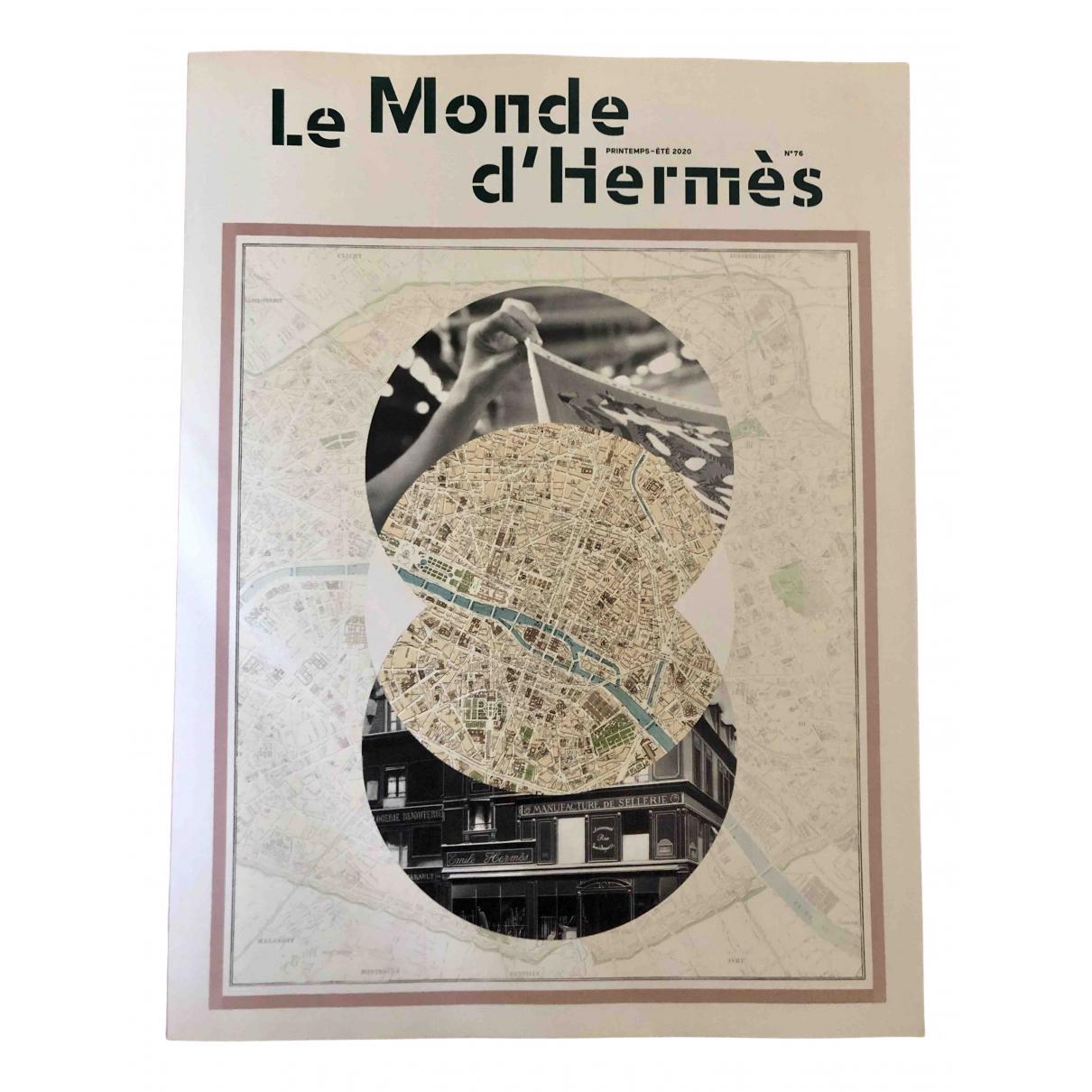 Hermes - Photographie   pour lifestyle en bois - multicolore