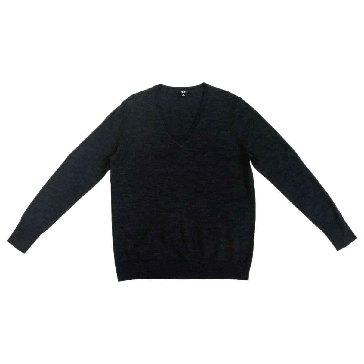 Uniqlo \N Anthracite Wool Knitwear & Sweatshirts for Men XL International