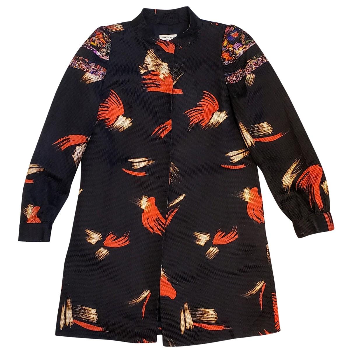 Dries Van Noten \N Black Silk jacket for Women 36 FR