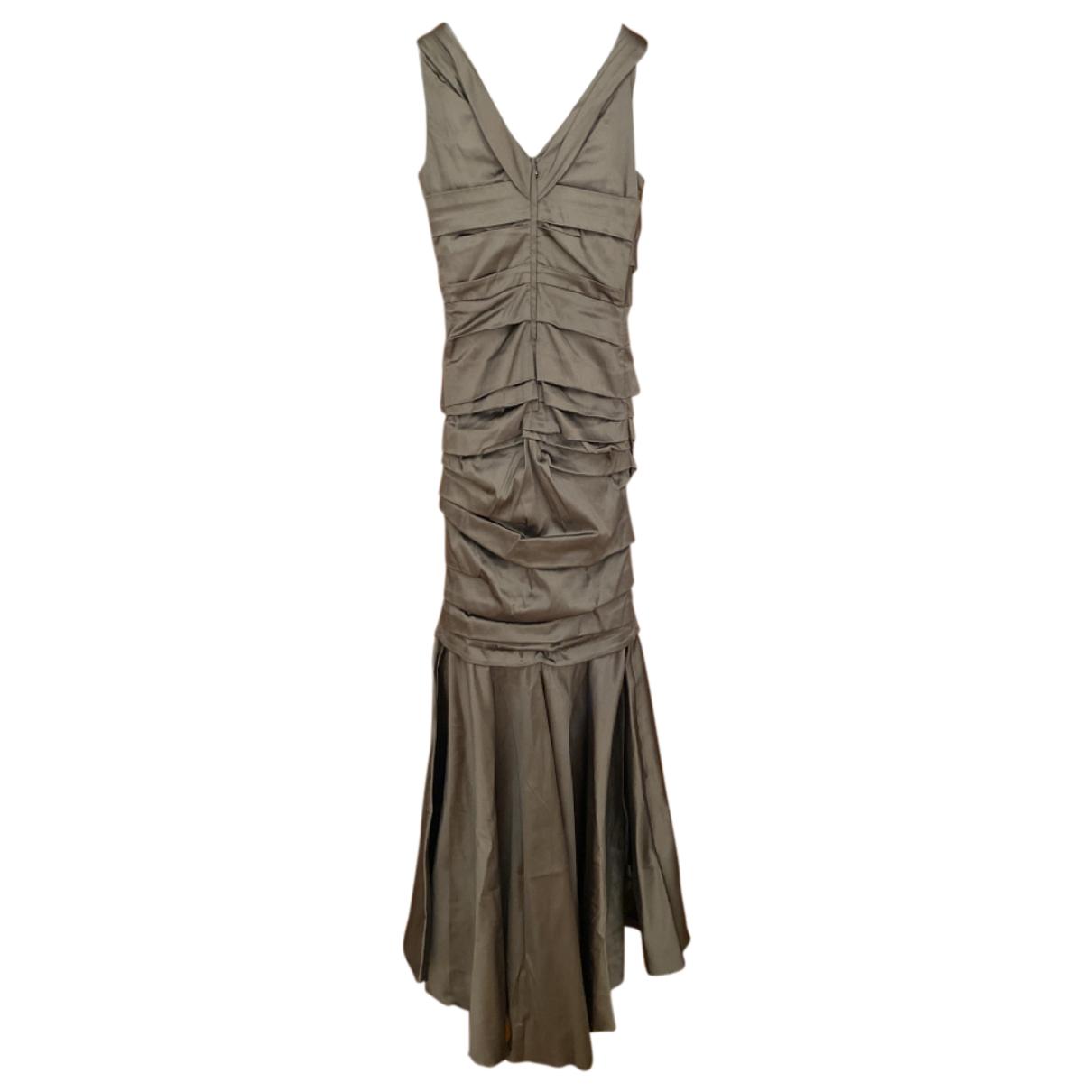 Dolce & Gabbana N Grey Silk dress for Women 44 IT