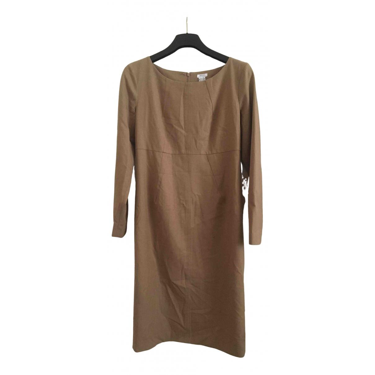 Gant N Beige Wool dress for Women 42 FR