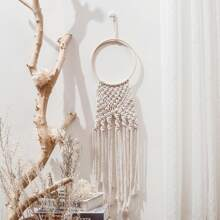 1 Stueck Wall Dekoration mit gewebten Quasten