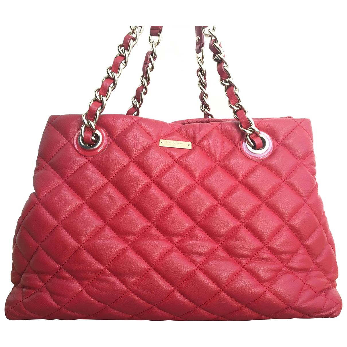 Kate Spade \N Red Leather handbag for Women \N
