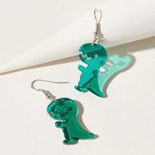 Dinosaur Drop Earrings