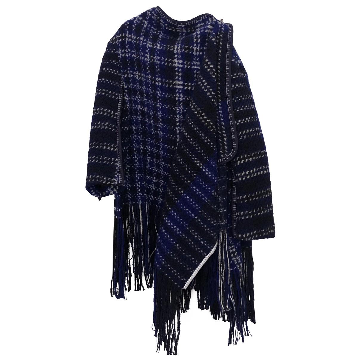 Marni - Manteau   pour femme en laine - bleu