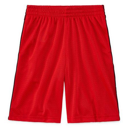 Xersion Mesh Short Little & Big Boys Husky Basketball Short, 8 Husky , Red