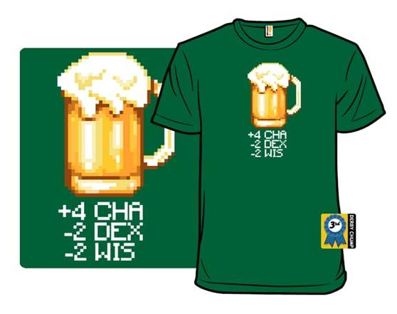 Status Effects T Shirt