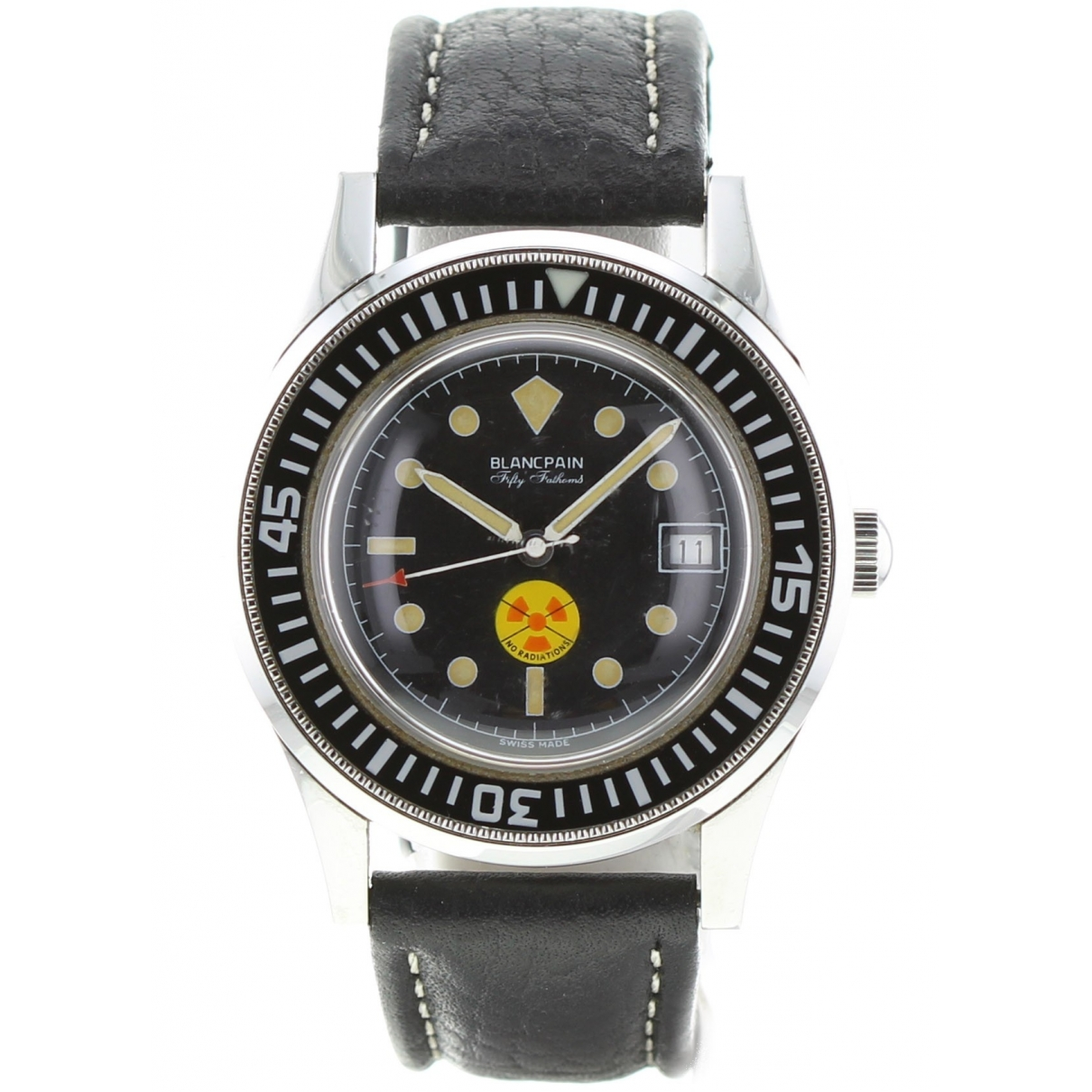 Blancpain Fifty Fathoms White Black White gold watch for Men \N