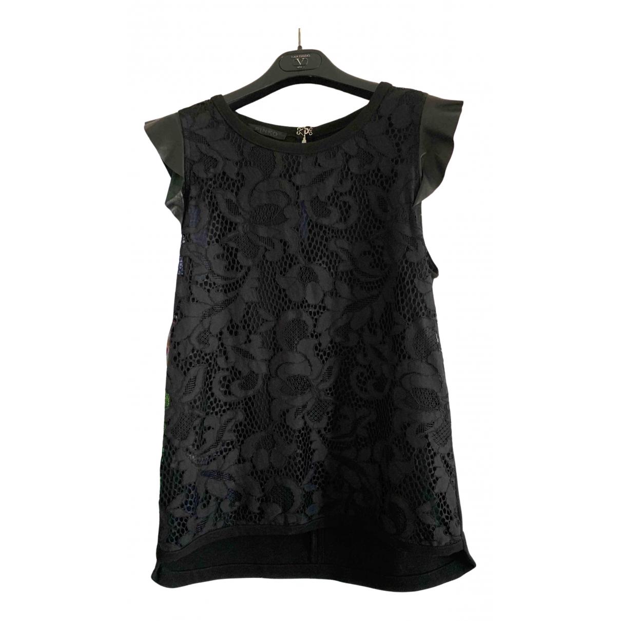 Pinko \N Black Cotton  top for Women 42 IT