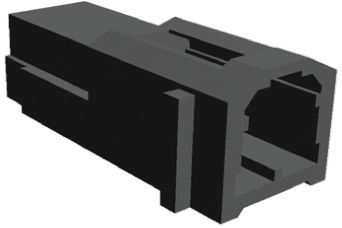 TE Connectivity , MULTILOCK 070 Female Connector Housing, 3.5mm Pitch, 2 Way, 1 Row (5)