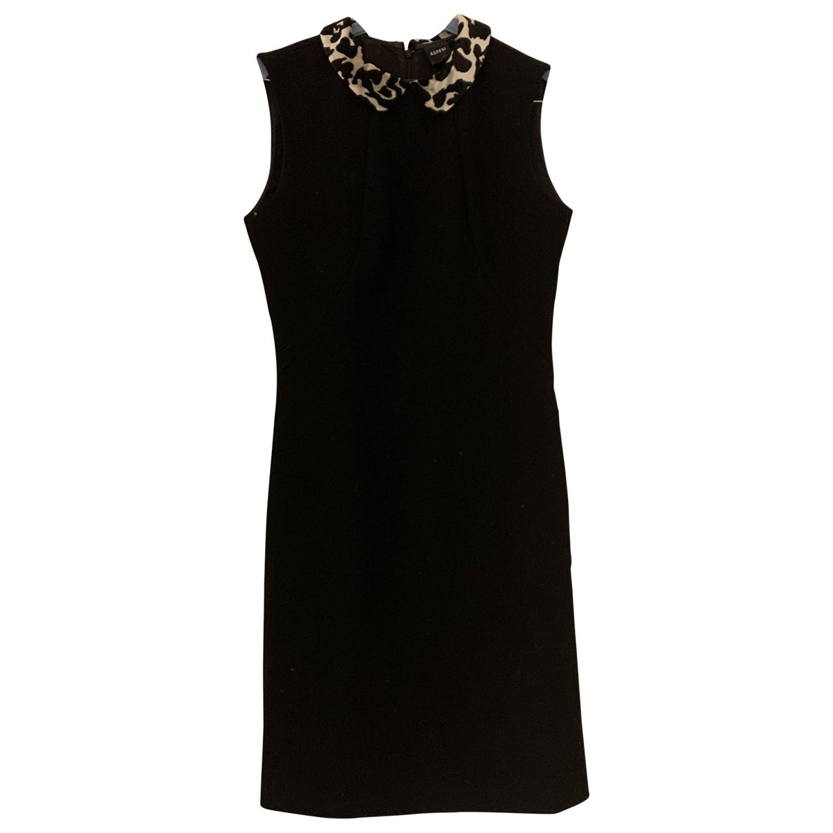 Aspesi \N Kleid in  Schwarz Wolle
