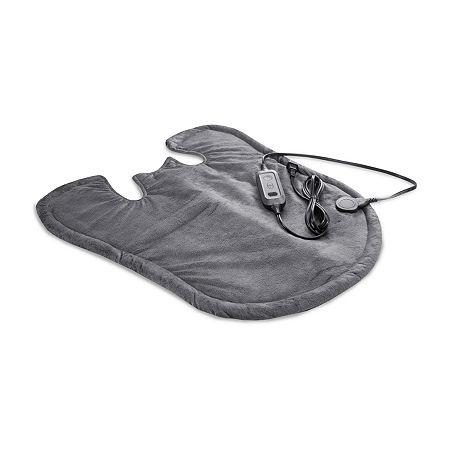 SensorPEDIC Heated Neck & Shoulder Wrap, One Size , Black