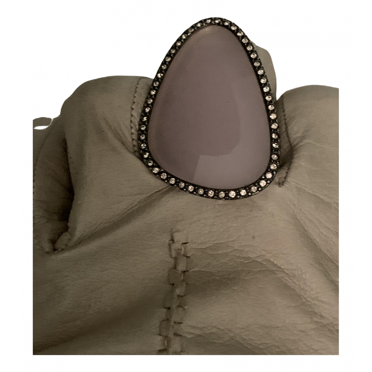 - Bague   pour femme en metal - metallise