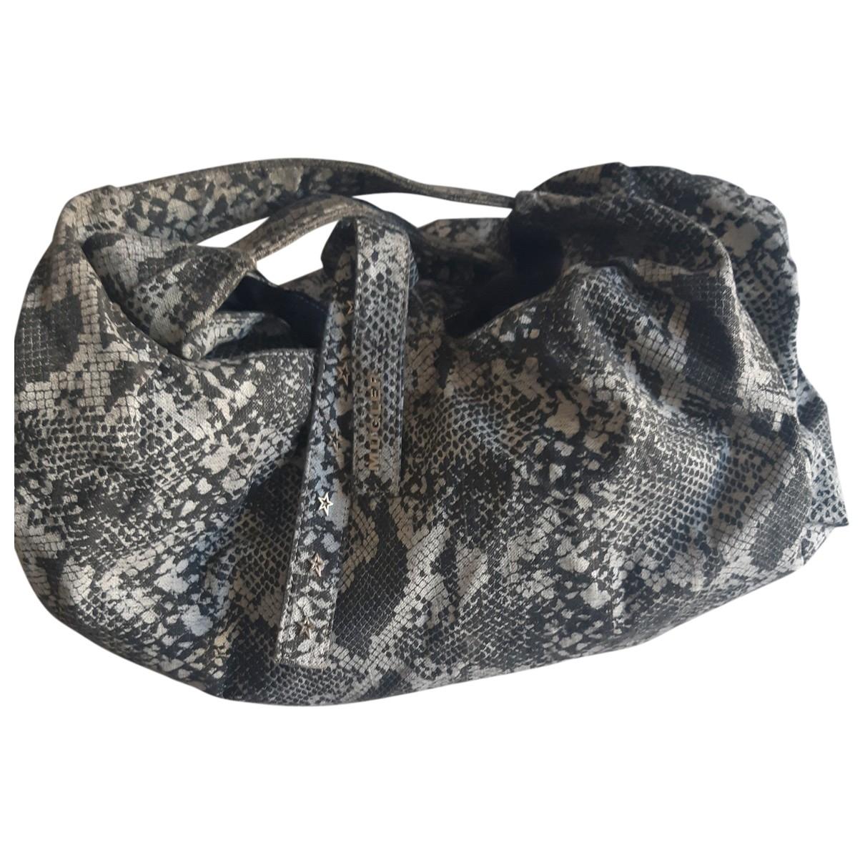 Thierry Mugler \N Grey Cloth handbag for Women \N