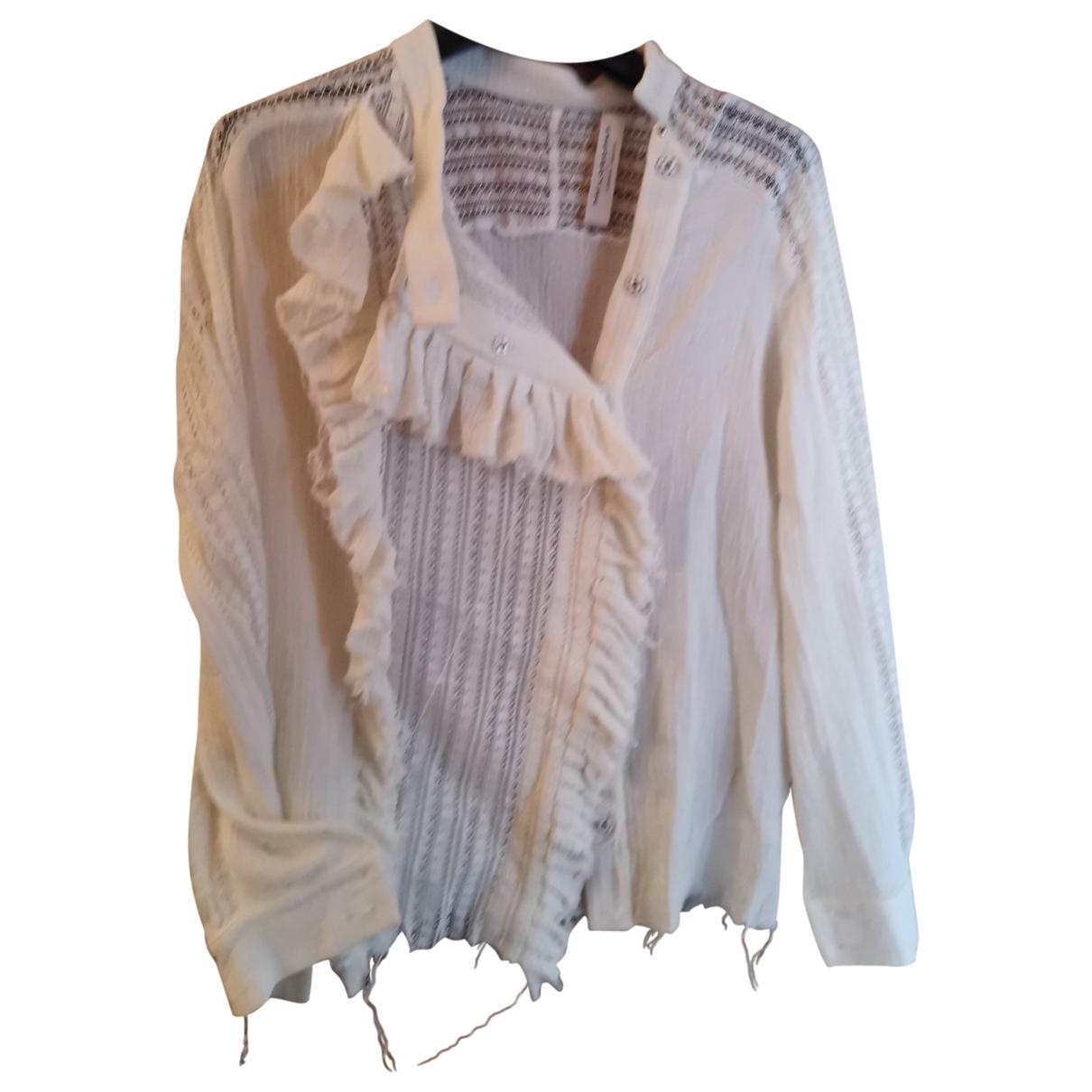 Philosophy Di Lorenzo Serafini \N White Cotton  top for Women 40 FR