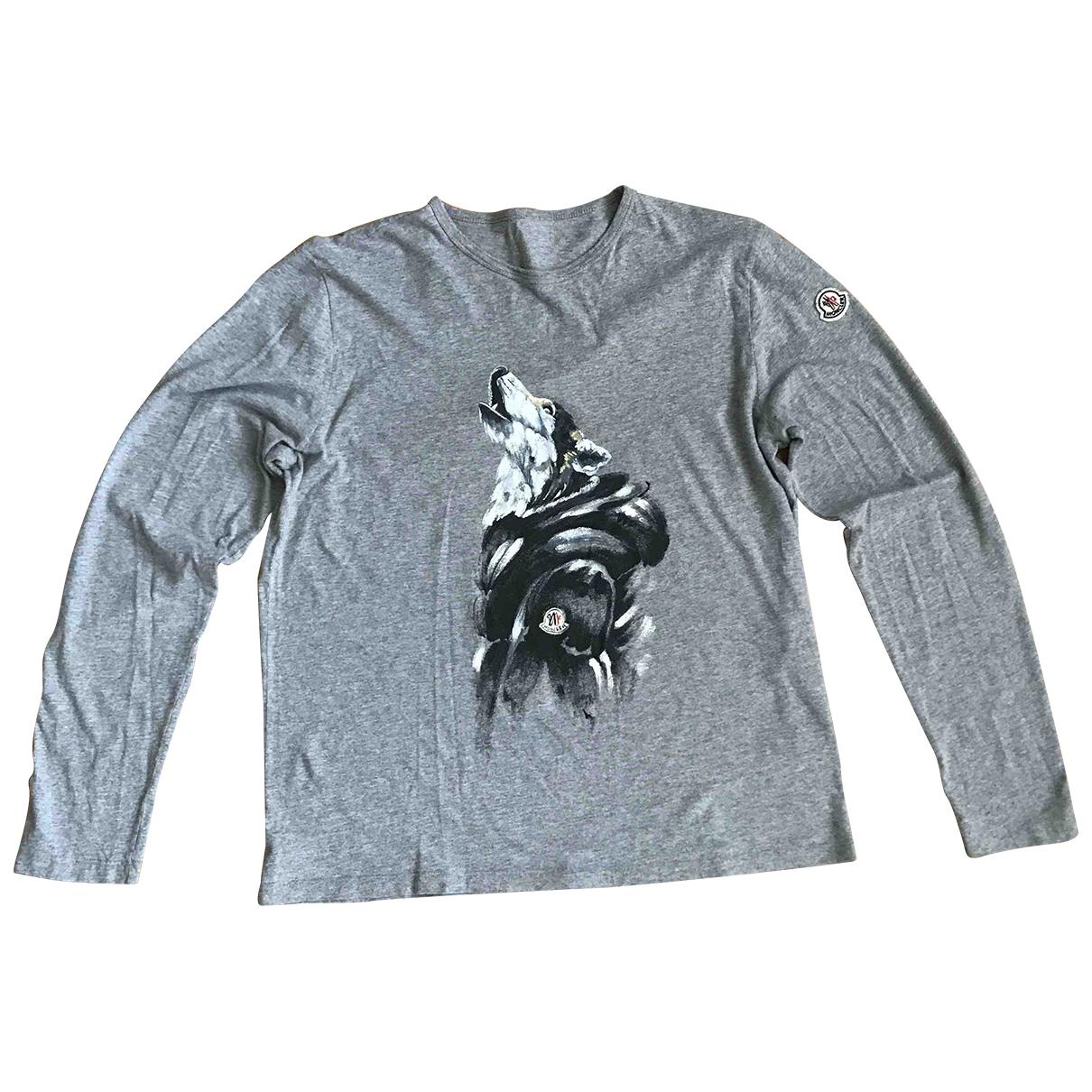 Moncler N Grey Cotton Knitwear & Sweatshirts for Men L International