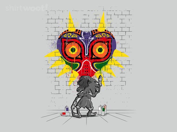 Majoras Graffiti T Shirt