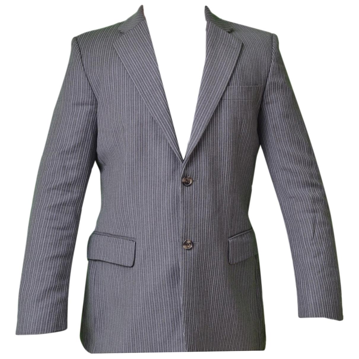 Hugo Boss \N Grey Cotton jacket  for Men XL International