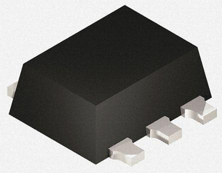 Littelfuse SP3003-02XTG, Quint-Element Uni-Directional TVS Diode Array, 5-Pin SOT-553 (3000)