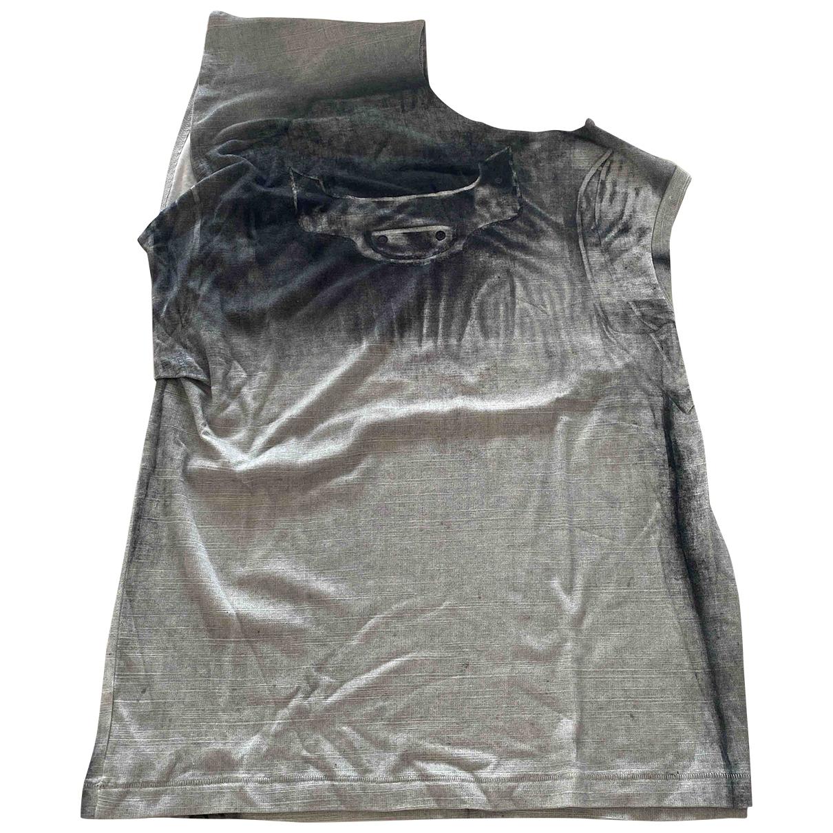 Balenciaga \N Top in  Grau Baumwolle