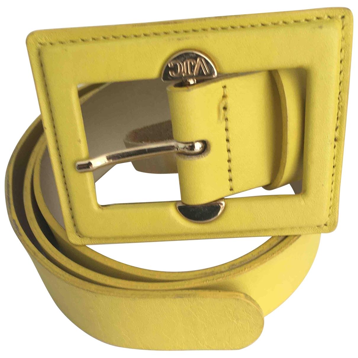 Cinturon de Cuero Versace Jeans