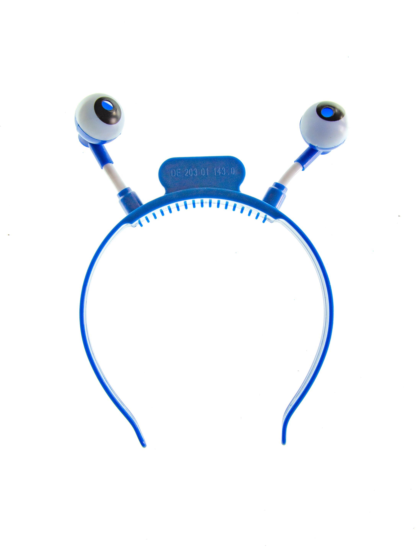 Kostuemzubehor LED Haarreif Monster blau
