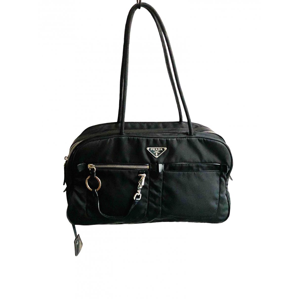 Prada Tessuto city Black Cloth handbag for Women \N