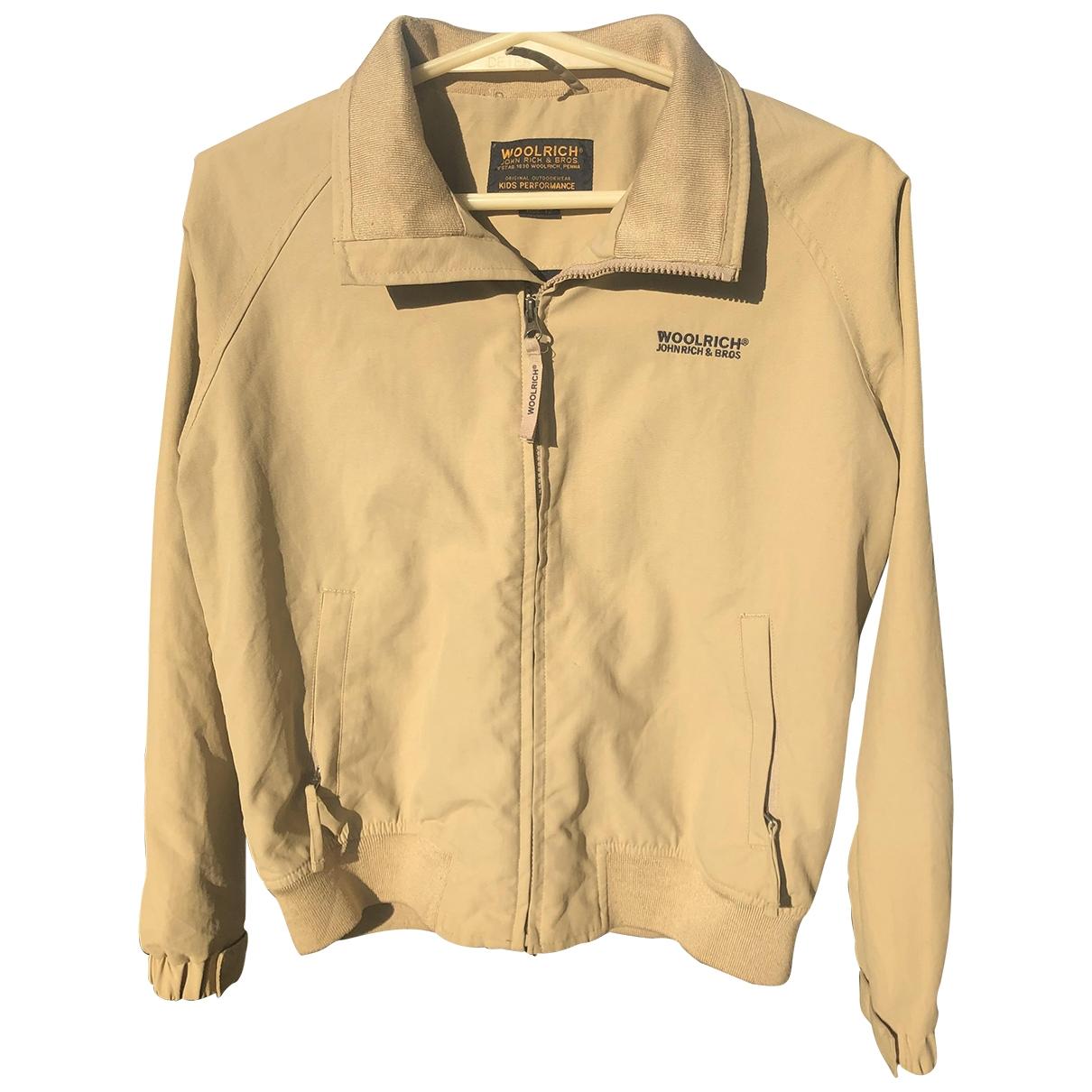 Woolrich \N Beige jacket & coat for Kids 12 years - XS FR
