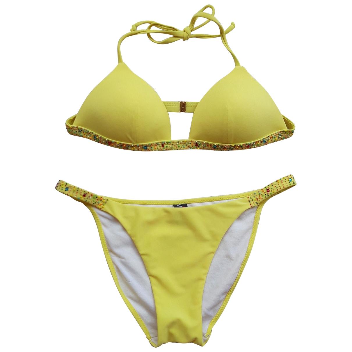 - Bain   pour femme - jaune